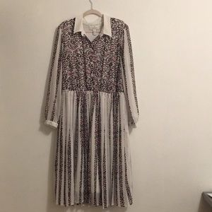 LANE BRYANT GIRL WITH CURVES SIZE 20 LEOPARD DRESS